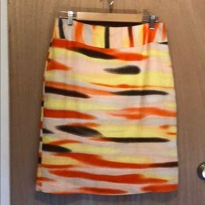 Cato multi color skirt